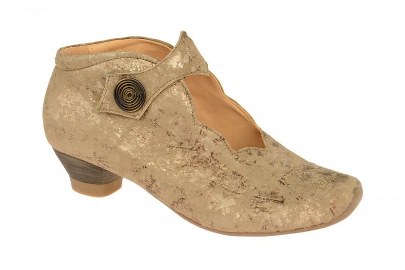 Think AIDA elegante Stiefelette für Damen in beige