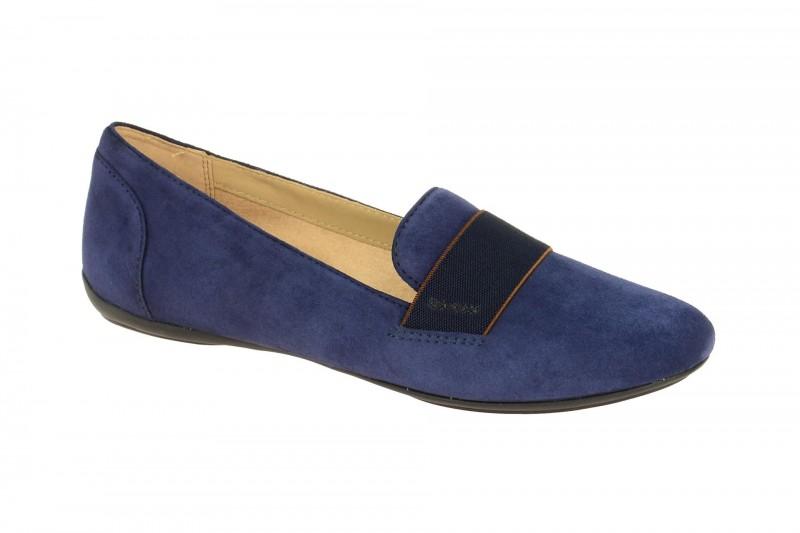 Geox Respira Charlene J Schuhe in blau - Damen Slipper