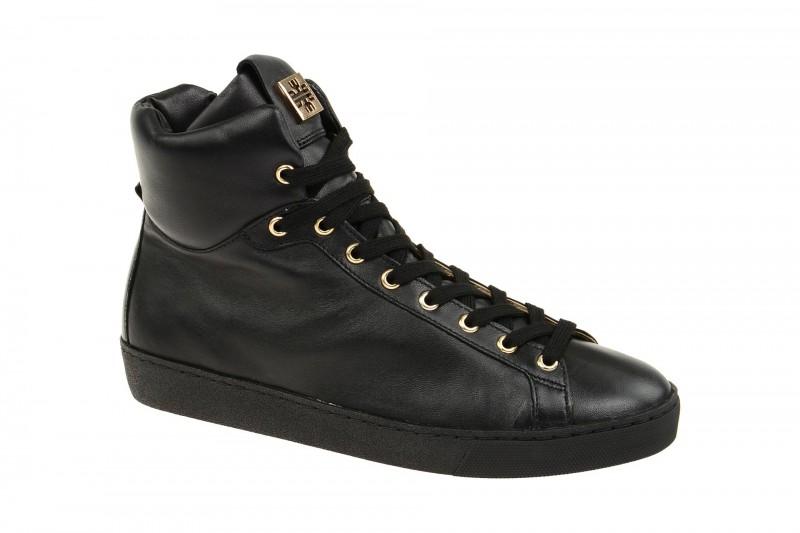 Högl 0360 sportliche Stiefelette für Damen in schwarz