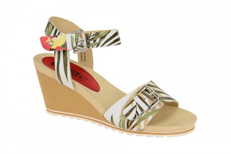 Pikolinos BALI Riemchen Sandale für Damen in weiß