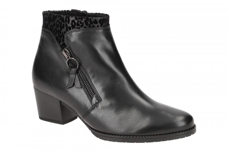 Gabor St.Tropez elegante Stiefelette für Damen in schwarz