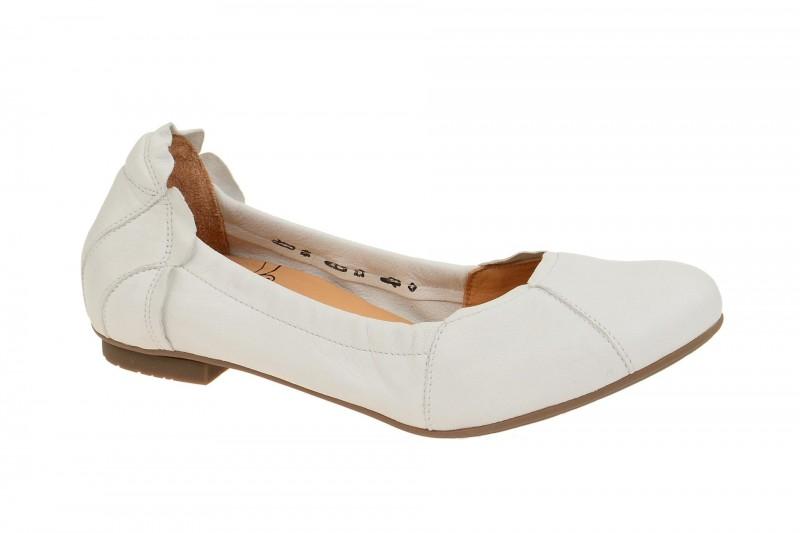 Think BALLA Ballerina - Halbschuhe - Slipper für Damen in weiß