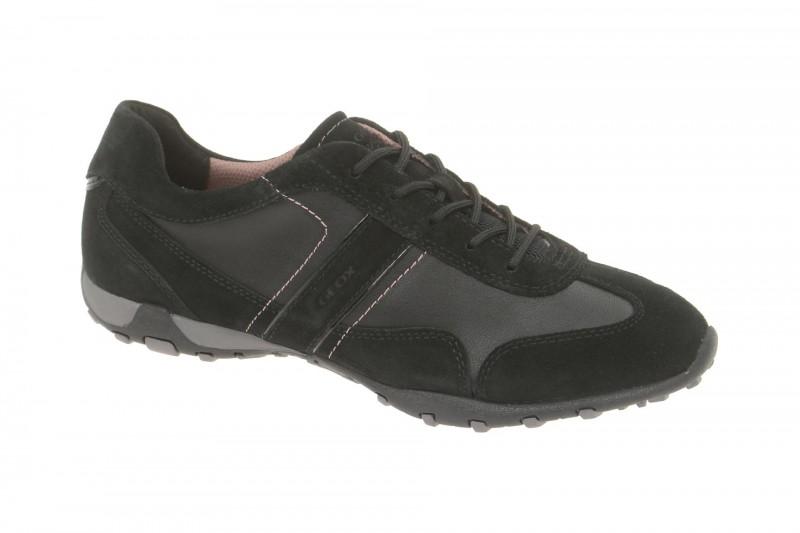 Geox Respira Freccia A Sportschuhe in schwarz Damen Sneakers