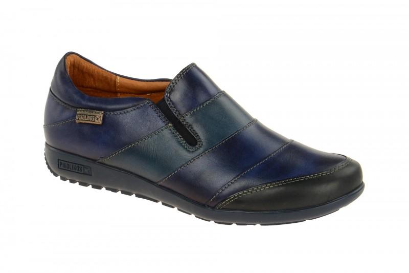 Pikolinos LISBOA bequeme Slipper für Damen in dunkel-blau