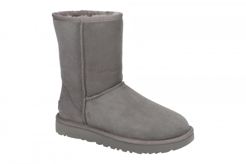 UGG CLASSIC SHORT II Winterstiefel für Damen in grau