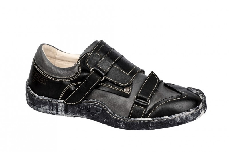 Eject Skat sportliche Slipper für Herren in schwarz