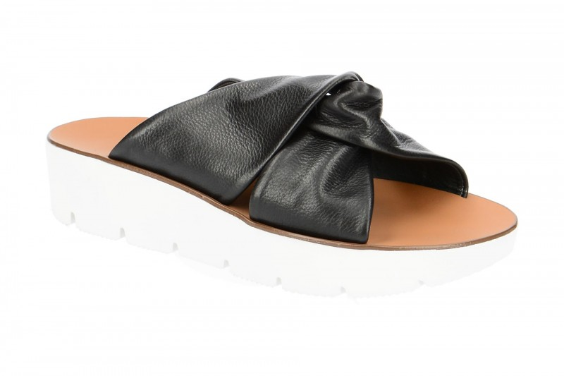 Paul Green 7069 Pantolette für Damen in schwarz