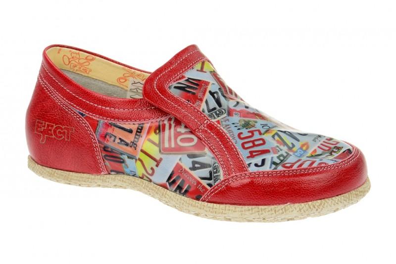 Eject Road sportliche Slipper für Damen in rot
