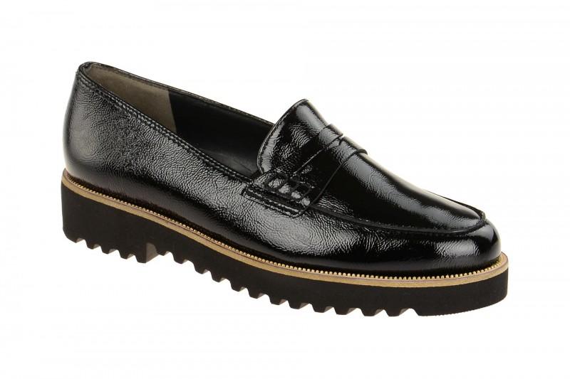 Paul Green 1011 elegante Slipper für Damen in schwarz