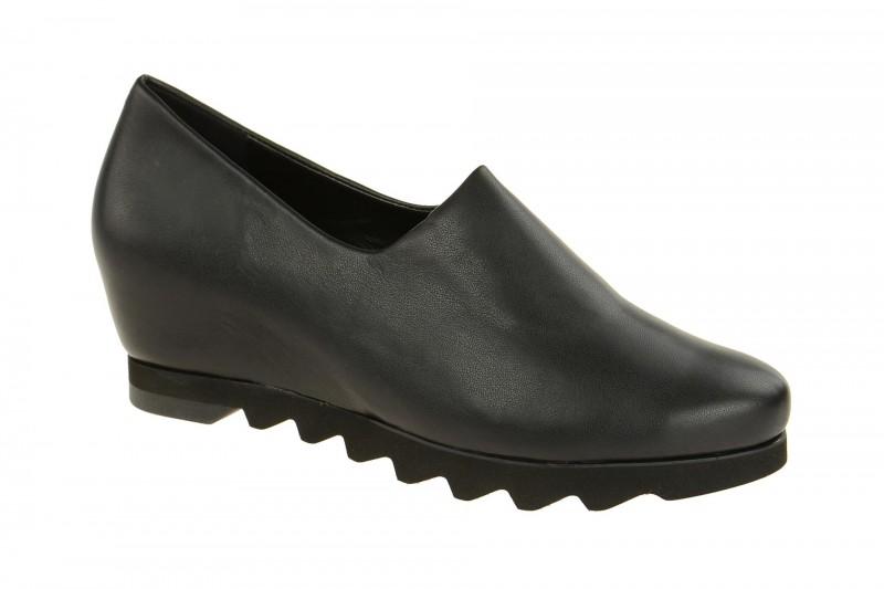 Högl 3247 bequeme Slipper für Damen in schwarz
