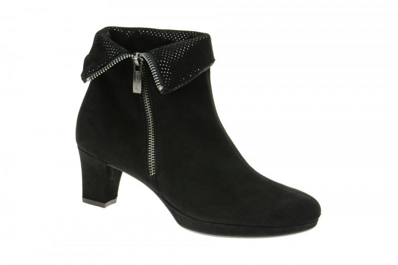 Paul Green 8440 elegante Stiefelette für Damen in schwarz
