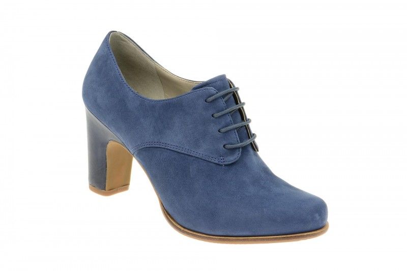 Ecco TOULOUSE elegante Halbschuhe für Damen in blau