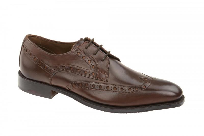 Gordon & Bros. LORENZO elegante Halbschuhe und Schnürschuhe für Herren in braun
