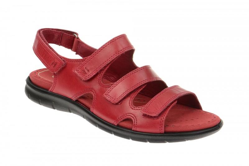 Ecco BABETT SANDAL Sandalette für Damen in rot