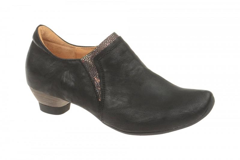 Think AIDA elegante Slipper für Damen in schwarz