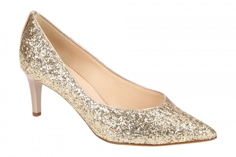 Högl 6756 Pumps für Damen in gold
