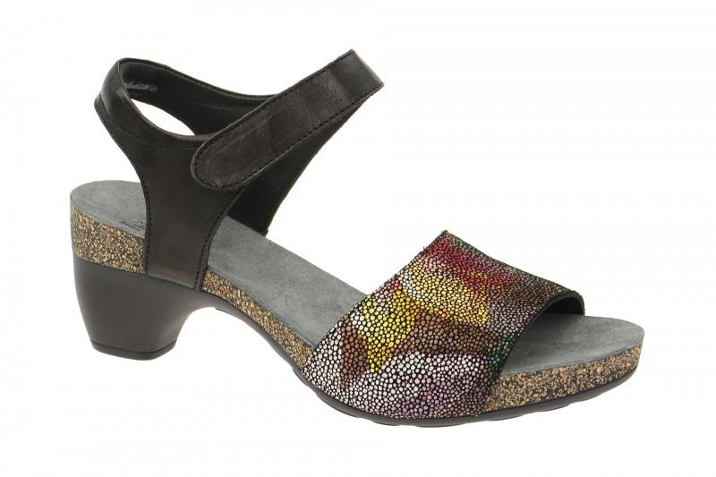Think TRAUDI Riemchen Sandale für Damen in schwarz