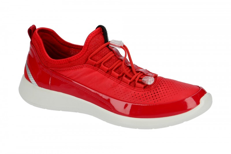 Ecco SOFT 5 Sneakers für Damen in rot