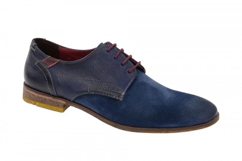 Lloyd GARDELL elegante Halbschuhe und Schnürschuhe für Herren in blau