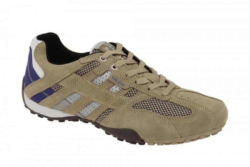 Geox Respira Snake K Sneakers in beige sand Herrenschuhe