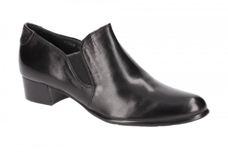 Everybody 11398N3254 elegante Slipper für Damen in schwarz