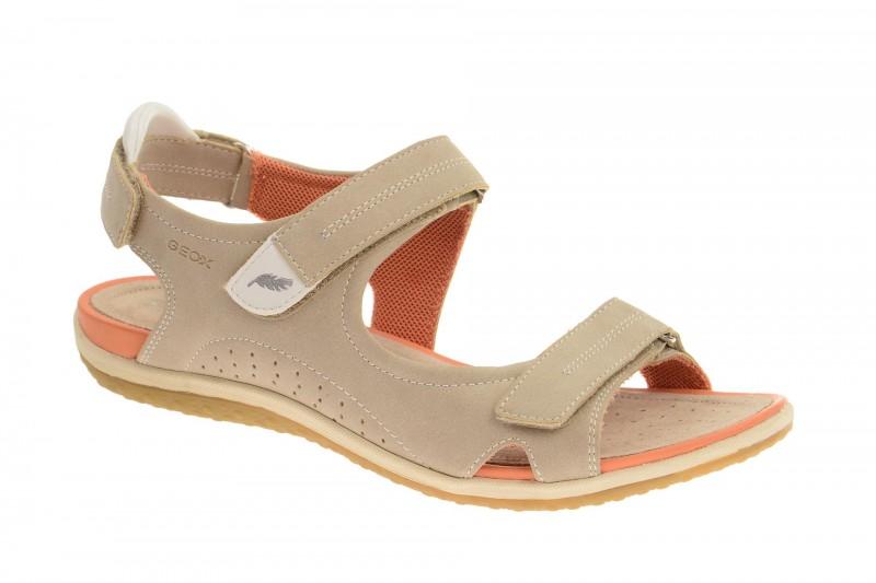 Geox Respira Sand.Vega A Damen Sandalette in beige