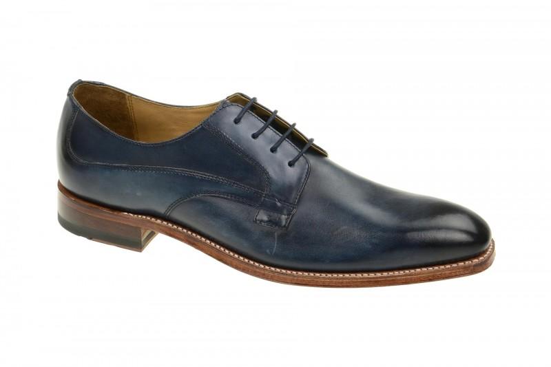 Gordon & Bros. MILAN Rahmengenähte Schuhe für Herren in blau