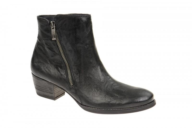 Paul Green 8484 elegante Stiefelette für Damen in schwarz