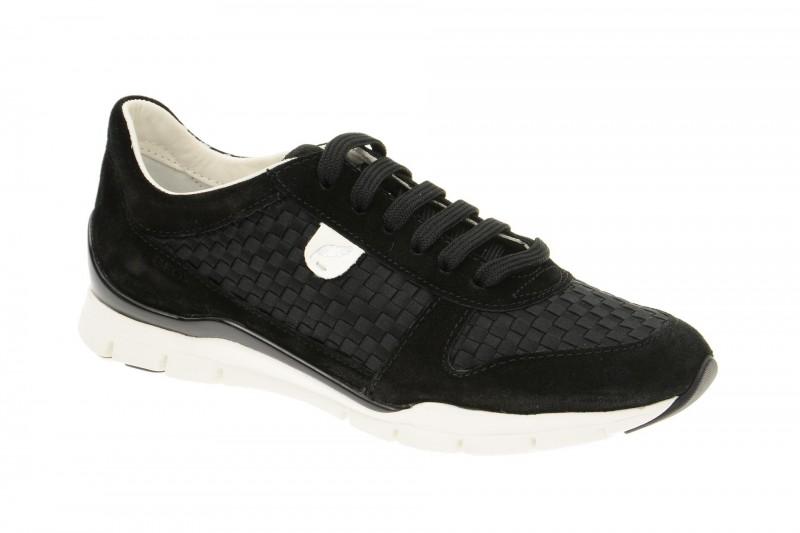 Geox Respira Sukie A Sneakers in schwarz Damenschuhe