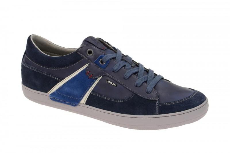 Geox Respira Box C Sneakers in dunkelblau Herrenschuhe