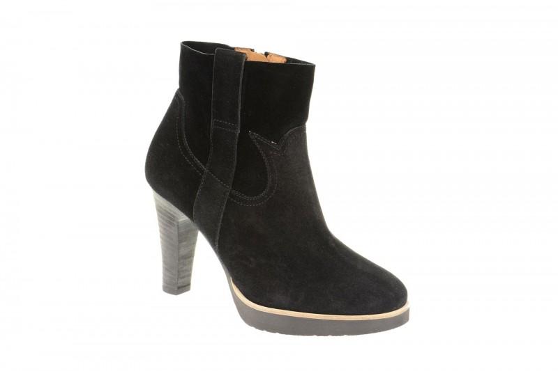 Paul Green 8342 elegante Stiefelette für Damen in schwarz