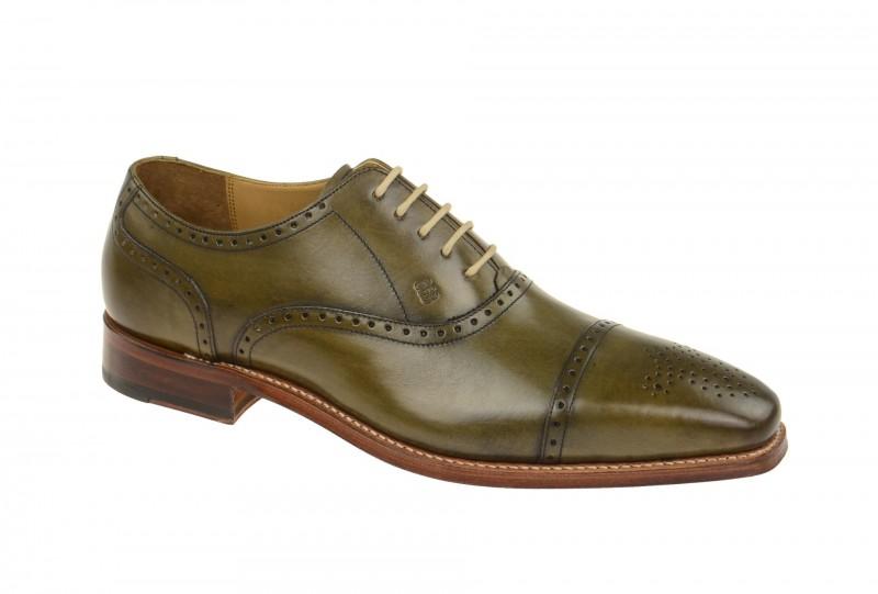Gordon & Bros. LUCQUIN Rahmengenähte Schuhe für Herren in grün