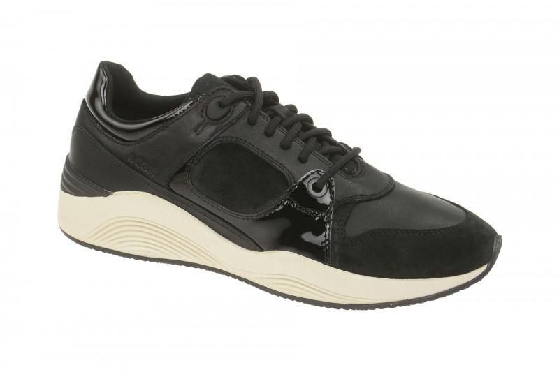 Geox Respira Omaya A Sneakers schwarz Damenschuhe