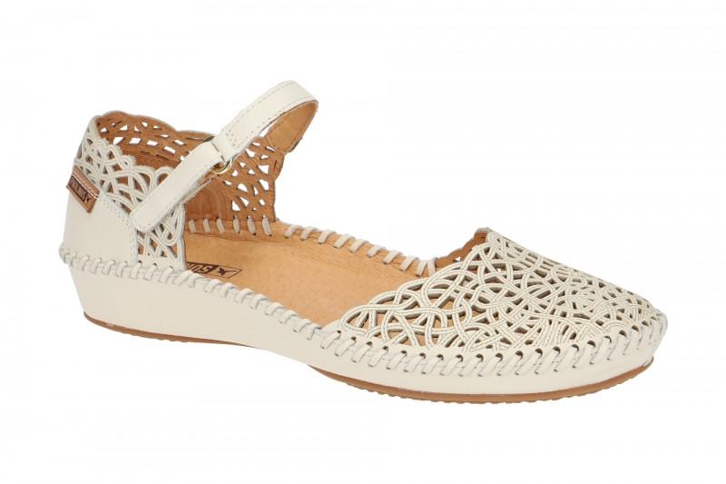 Pikolinos P. VALLARTA Riemchen Sandale für Damen in weiß