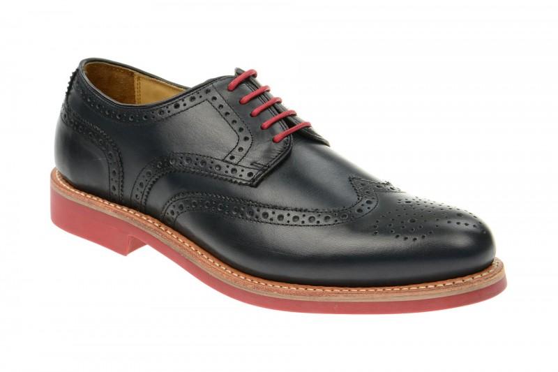 Gordon & Bros. LEVET Rahmengenähte Schuhe für Herren in blau
