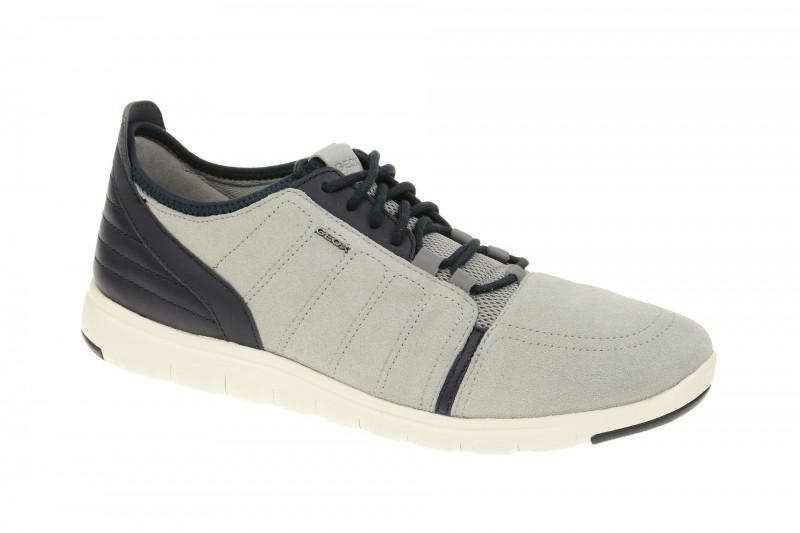 Geox Respira Xunday A Sneakers in hellgrau Herrenschuhe
