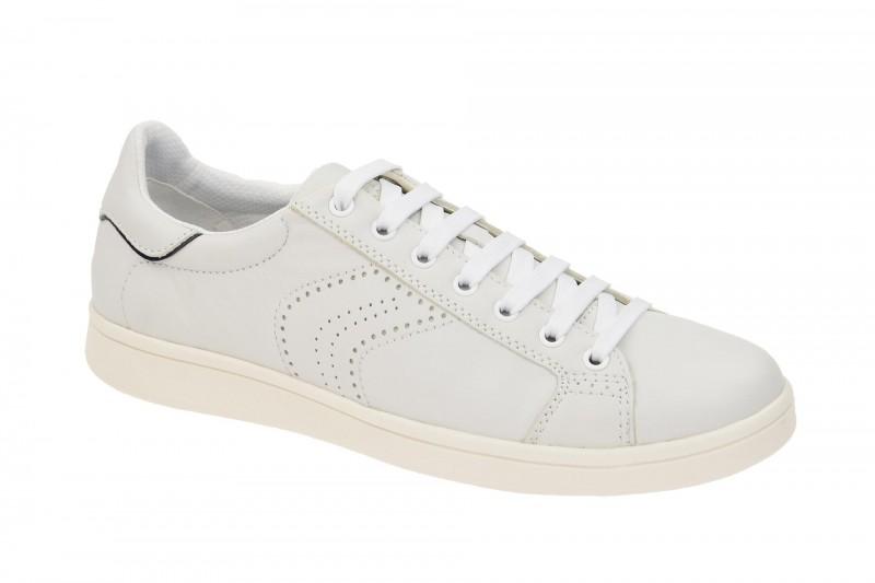 Geox Respira Warrens B Sneakers in weiß Herrenschuhe
