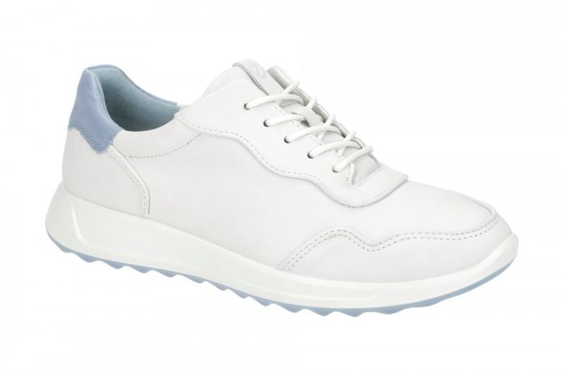 Ecco FLEXURE RUNNER 2 sportliche Halbschuhe für Damen in weiß