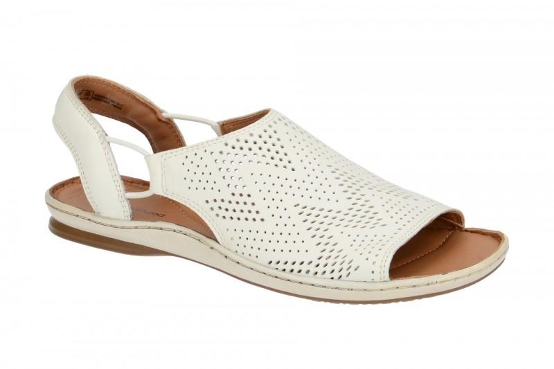 Clarks SARLA CADENCE Sandalette für Damen in weiß