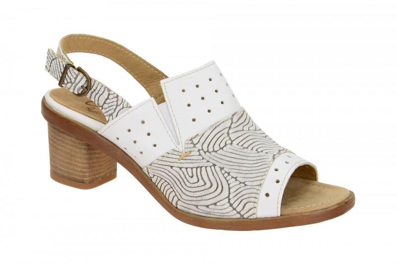 Charme 0482 Sandalette für Damen in weiß