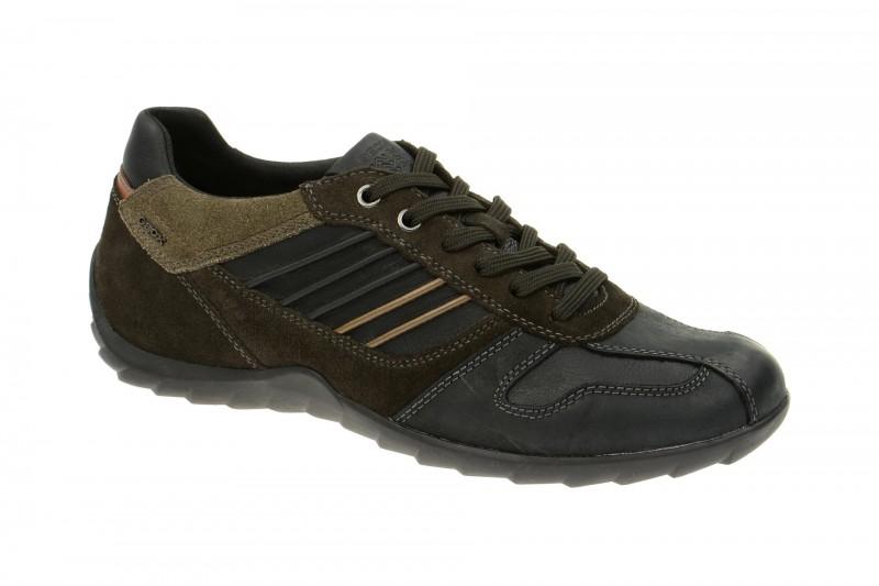 Geox Respira Pavel A Sneaker in schwarz Herrenschuhe