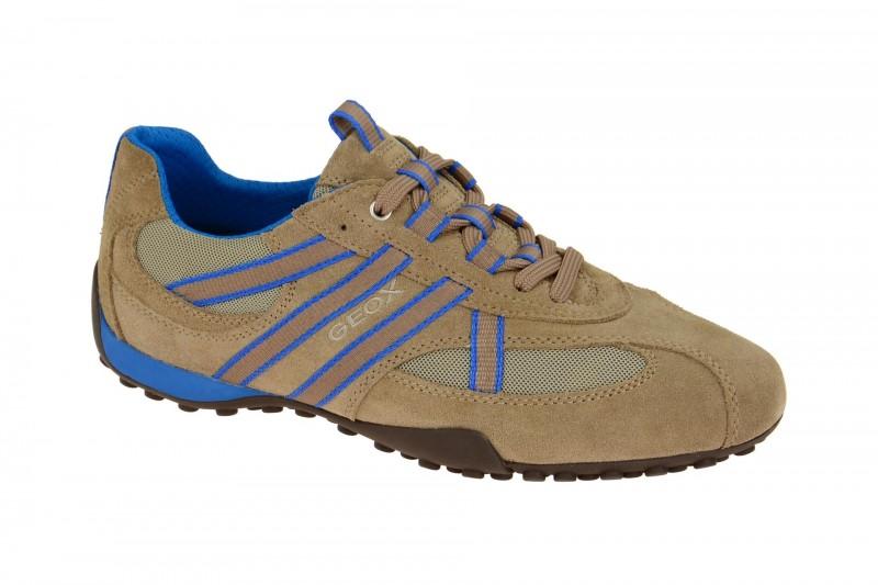 Geox Respira Snake S Sneaker in beige Herrenschuhe