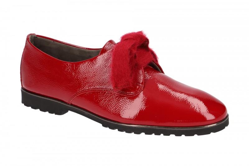 Paul Green 2431 elegante Halbschuhe für Damen in rot