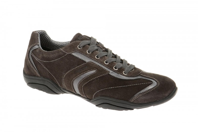 Geox Respira Arrow F Damenschuhe Sneakers in dunkelgrau