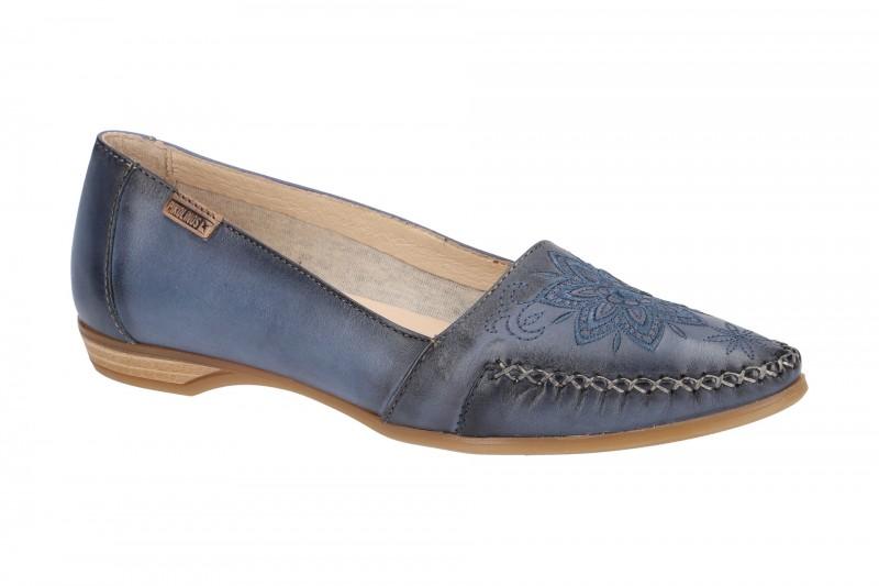 Pikolinos BARI bequeme Slipper für Damen in blau