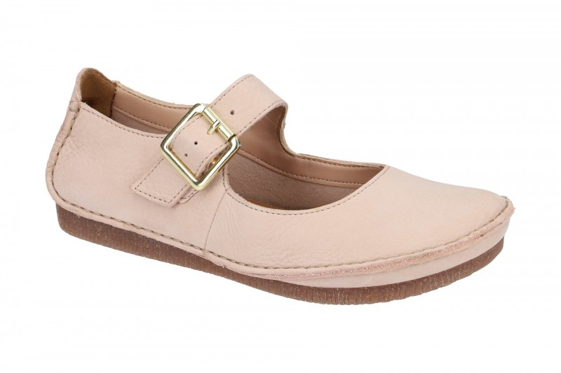 Clarks JANEY JUNE Mary-Jane Ballerina in rose
