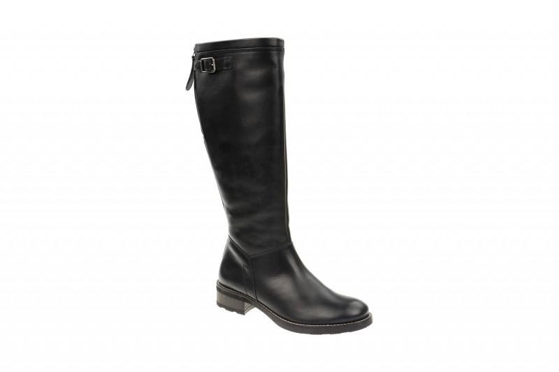 Paul Green 8135 elegante Stiefel für Damen in schwarz