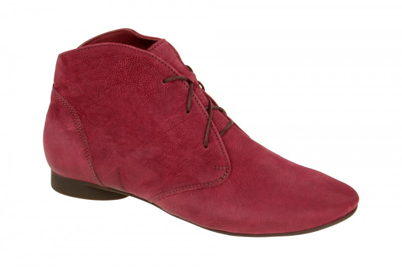 Think GUAD bequeme Stiefelette für Damen in rot