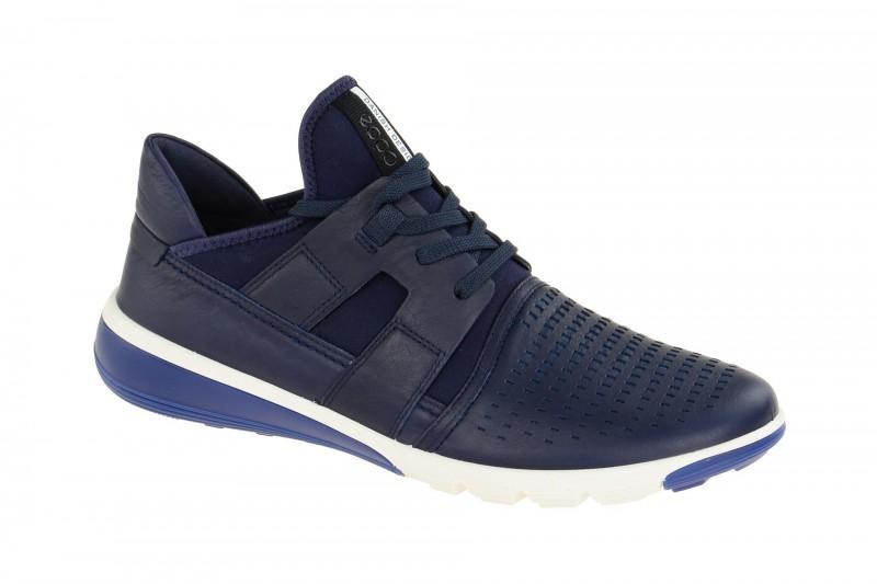 Ecco INTRINSIC 2 sportliche Halbschuhe für Herren in dunkel-blau