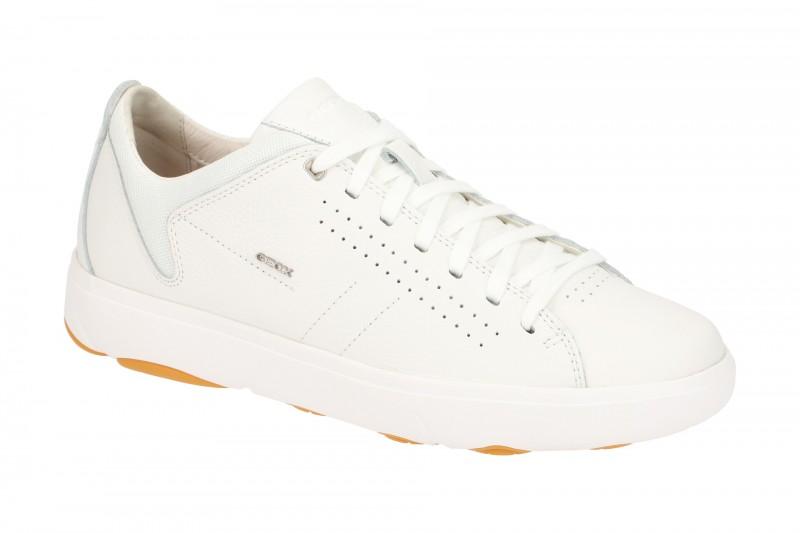 Geox NEBULA Y sportliche Halbschuhe für Herren in weiß